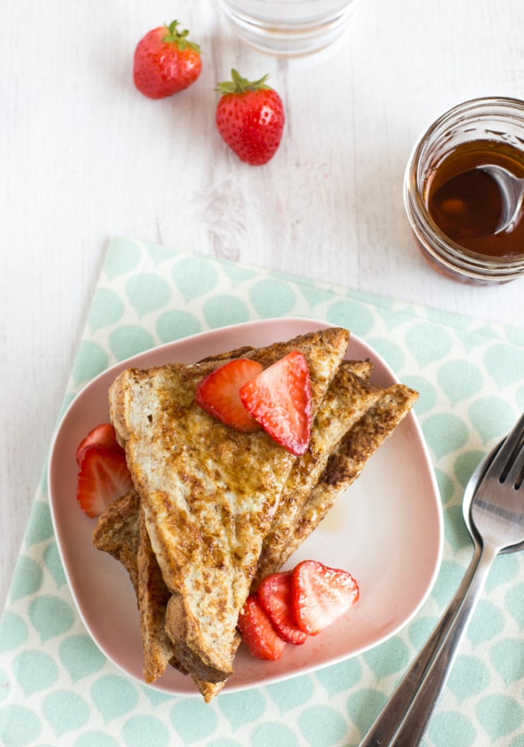 Image: Healthier French Toast