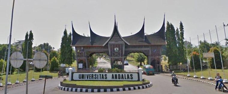 Andalas University in Padang, West Sumatra, Indonesia