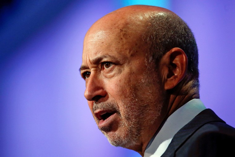 Image: Goldman Sachs Group, Inc. Chairman and Chief Executive Officer Lloyd Blankfein