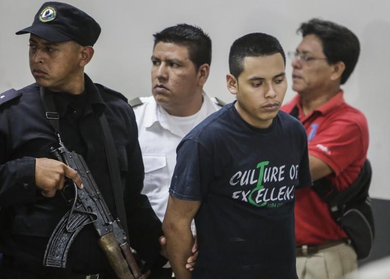 Image: NICARAGUA-CRIME-EXORCISM-SENTENCE