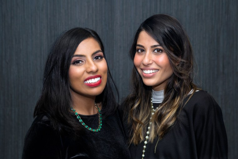 "Stranger Magic Production co-founders and co-producers and creators of ""Unfair & Ugly,"" Yumna Khan and Nida Chowdhry"