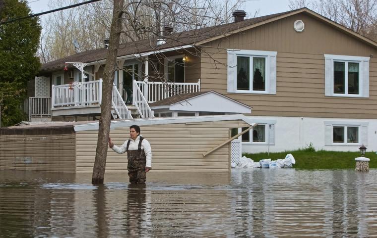 Image: Flooding across Quebec