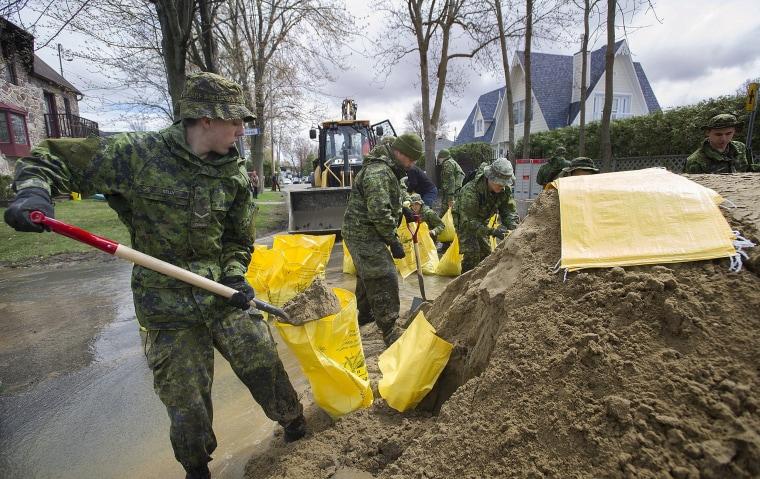 Image: Montreal Flooding