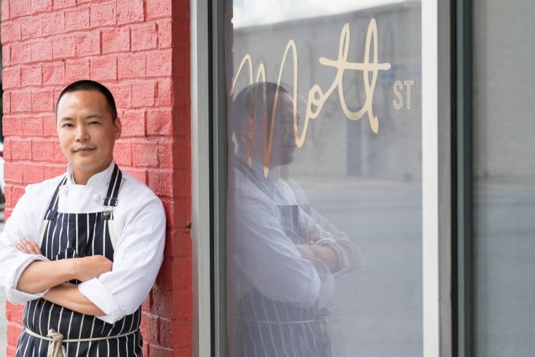 Chef Edward Kim from Mott Street in Chicago