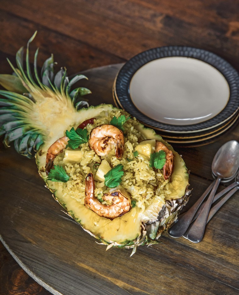 """The pineapple fried rice from chef Jet Tila's """"101 Asian Dishes You Need to Cook Before You Die."""""""