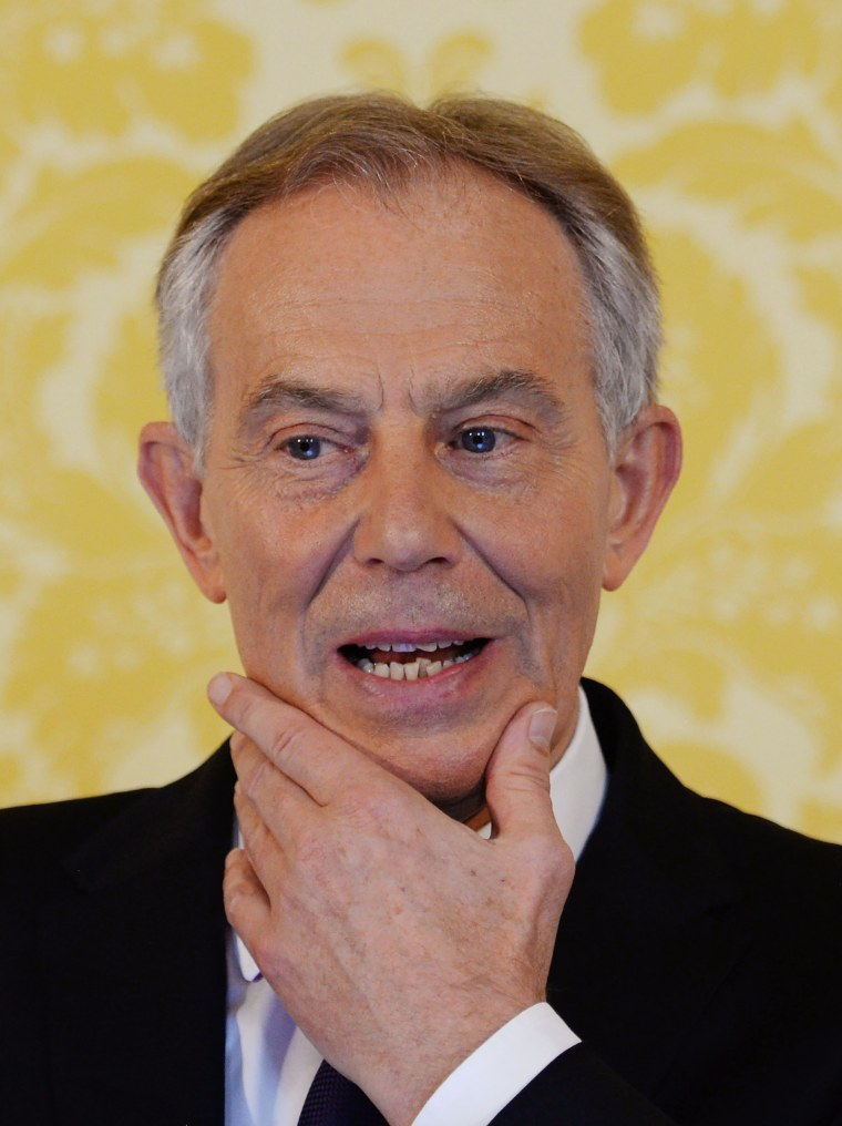 Image: Tony Blair in 2016