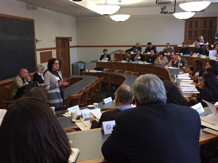 Roundtable at the Yale Law School on April 8, 2017