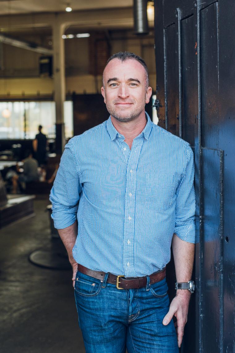 Brendon Lynch, CEO of Rudy's Barbershop