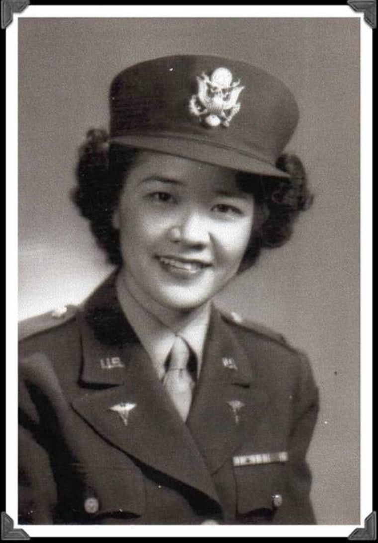 World War II Army Nurse Elsie Seetoo