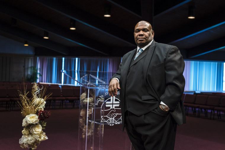 Image: Rev. Karl Jones, pastor of Fellowship Church of God in Cleveland
