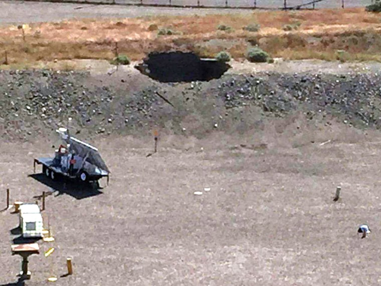 Image: Hanford Nuclear Reservation Sinkhole