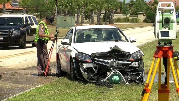 Image: Car crash in Florida
