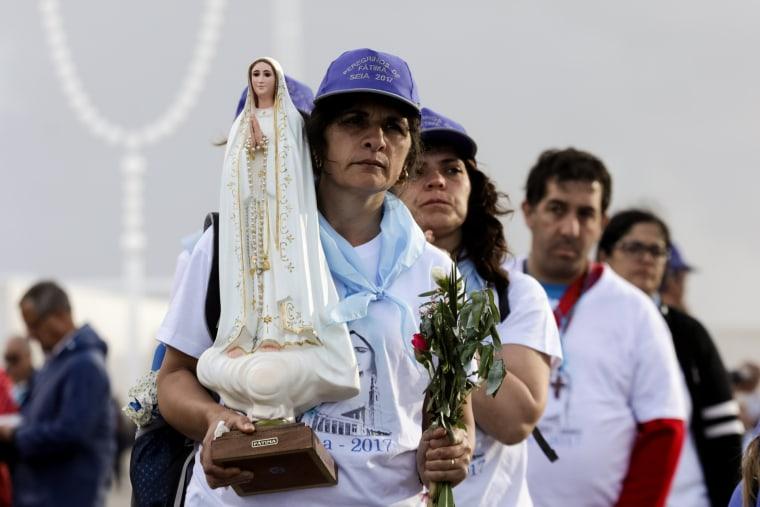 Image: Pilgrims in Fatima, Portugal