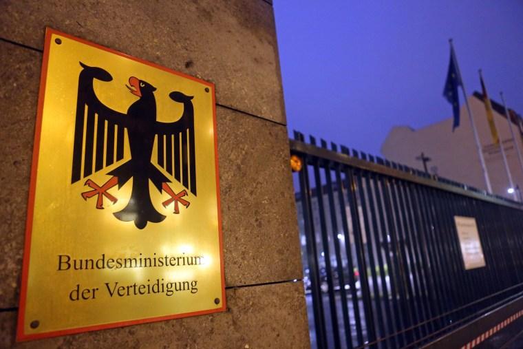 Image: German Defense Ministry in Berlin