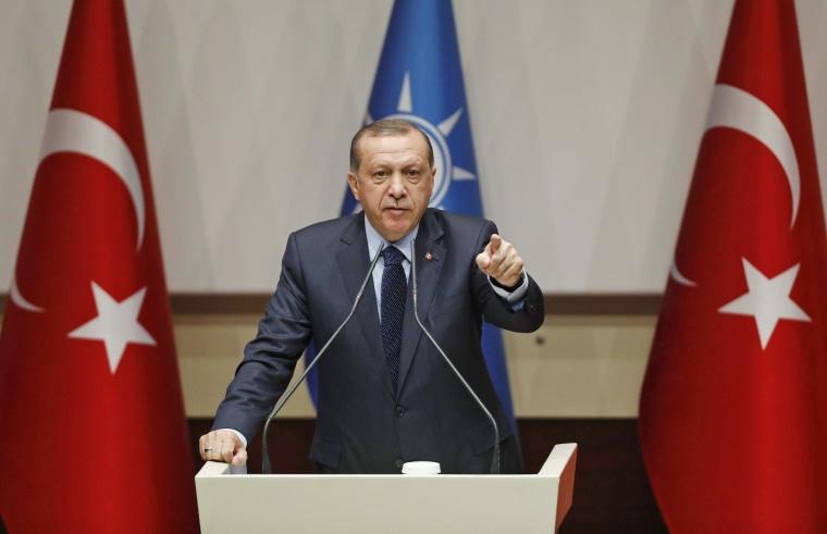 Image: Turkish President Erdogan