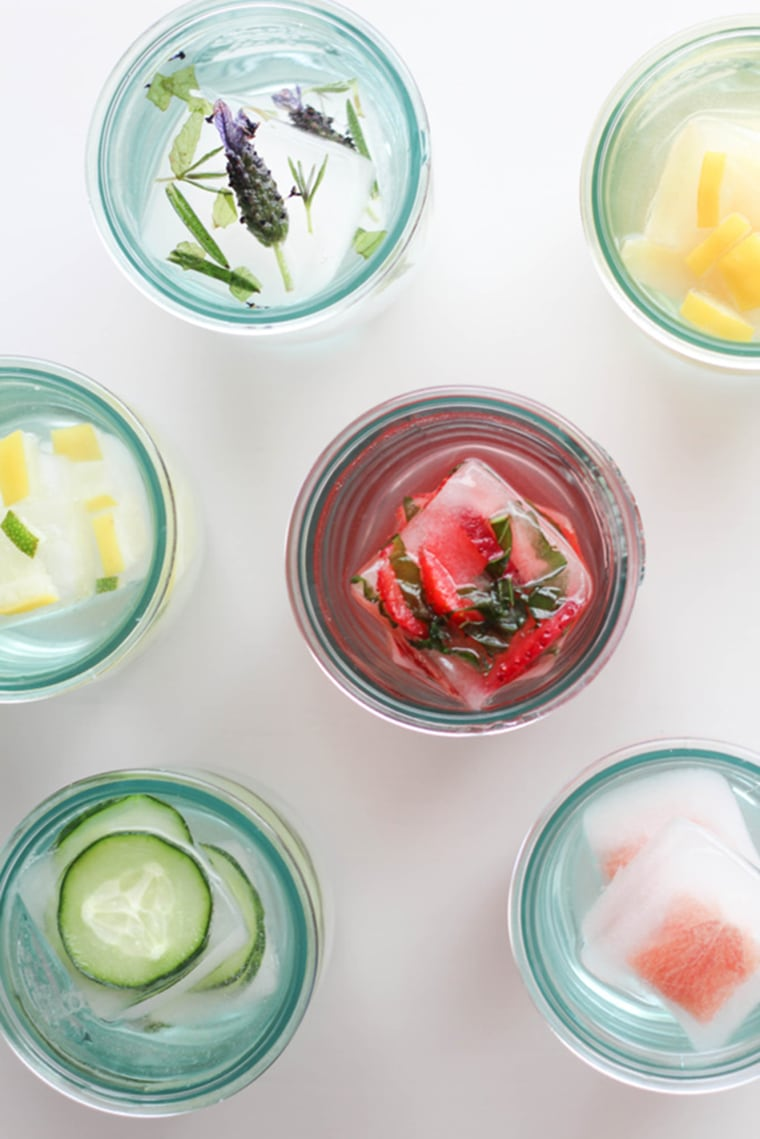 Image: Flavored ice cubes