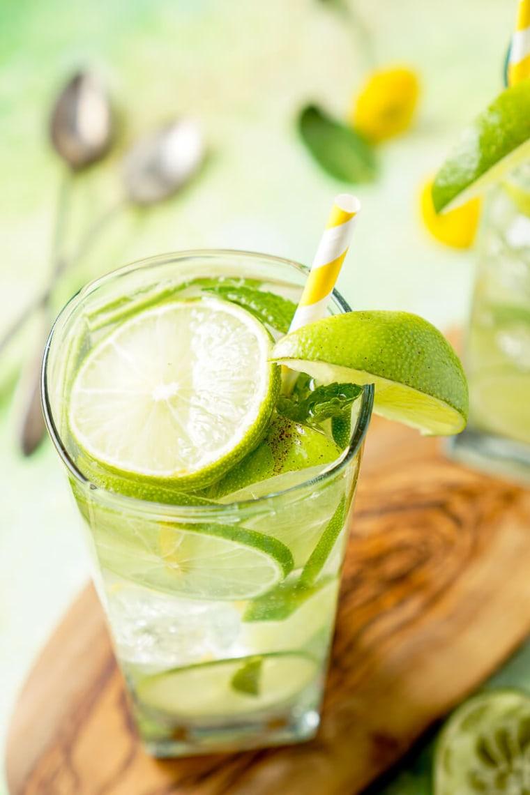 Image: Mojito water