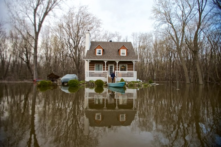 Image: Flooding across Quebec