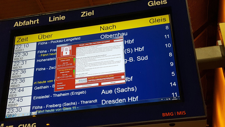 Image: TOPSHOT-GERMANY-WORLD-CYBER-SECURITY-ATTACKS