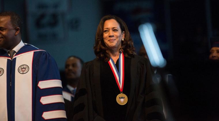 Image: Senator Kamala Harris at Howard University