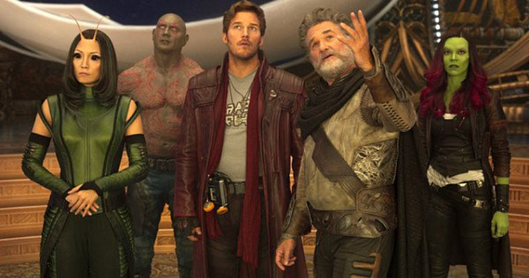 """Cast members of """"Guardians of the Galaxy Vol. 2"""""""