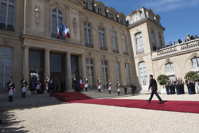 Image: Emmanuel Macron Inauguration