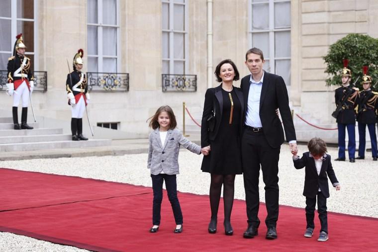 Image: FRANCE2017-POLITICS-INAUGURATION