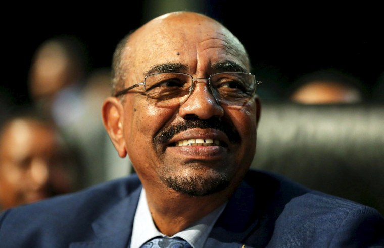 Image: Sudanese President Omar al-Bashir looks on ahead of the 25th African Union summit in Johannesburg