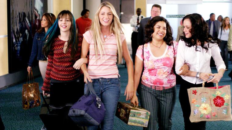 Amber Tamblyn, Blake Lively, America Ferrera, Alexis Bledel,