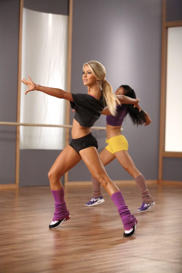 "Dance with Julianne: Cardio Ballroom"" Video Shoot"