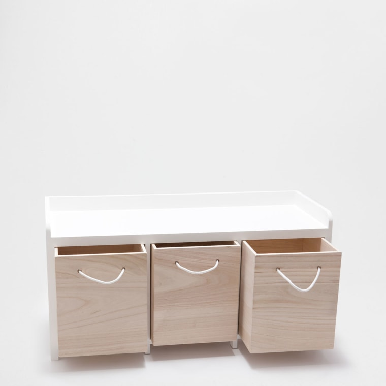 Stool With Drawers