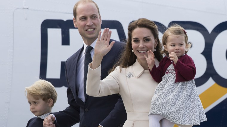 Prince William, Duchess Kate with their kids, Prince George and Princess Charlotte