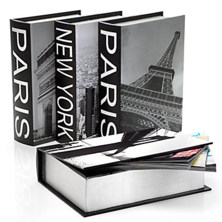 New York, Paris Destination Storage Boxes