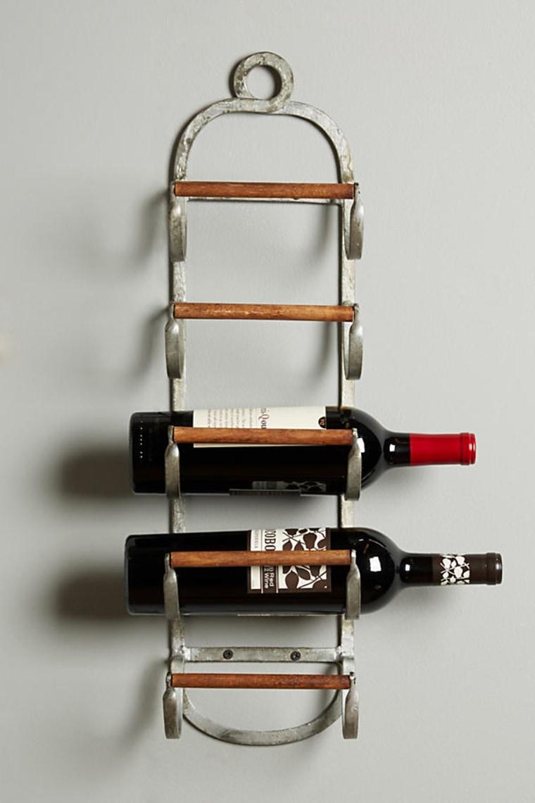 Wall Mounted Wine Rack