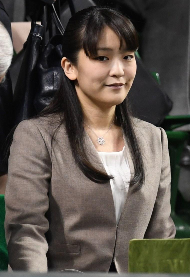 Princess Mako, oldest granddaughter of Japanese Emperor Akihito
