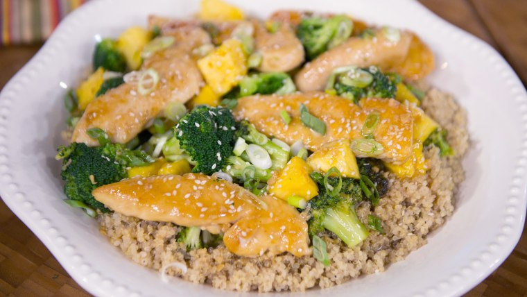 Pineapple Chicken with Broccoli