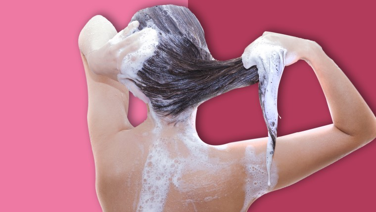 How to wash hair