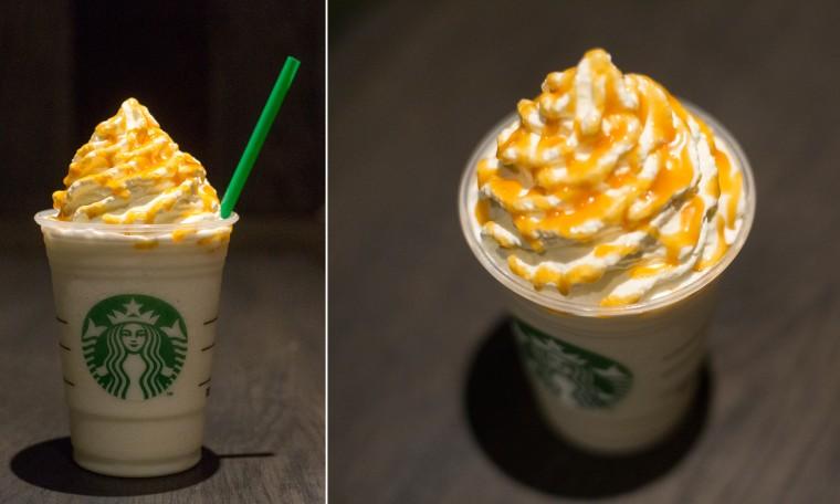 """Starbucks' """"Butterbeer Frappucino"""""""