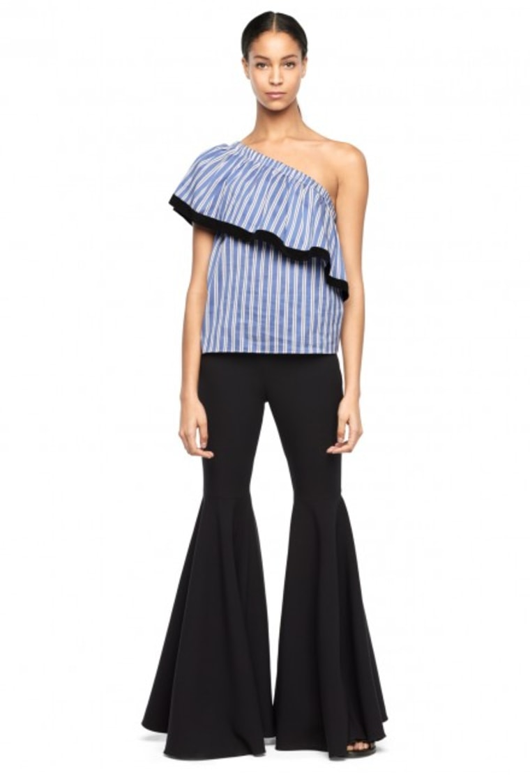 Ruffle One-Shoulder Top
