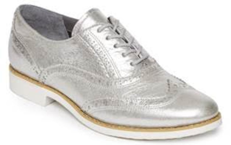 Rockport silver brogue