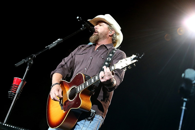Image: Toby Keith performs in concert at Austin360