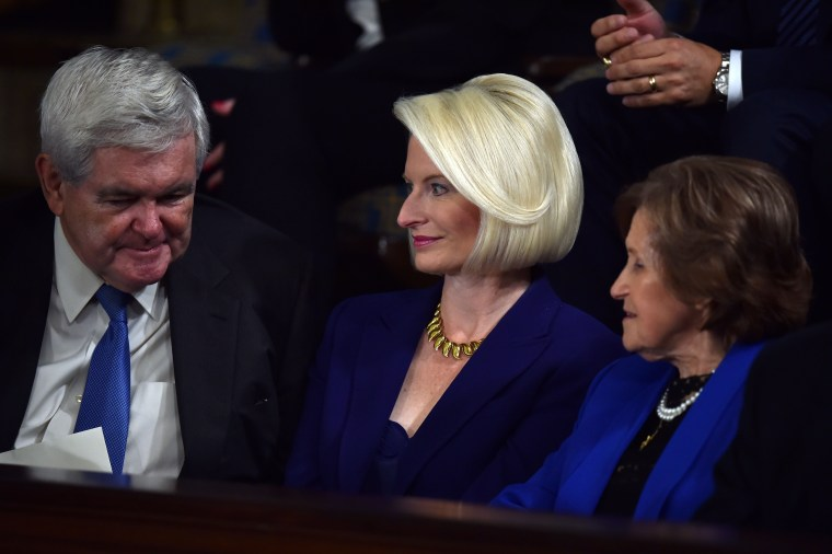Image: FILES-US-POLITICS-DIPLOMACY-VATICAN-CALLISTA GINGRICH