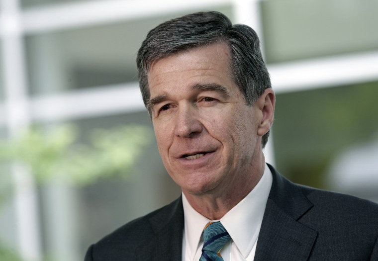 Image: North Carolina Gov. Roy Cooper