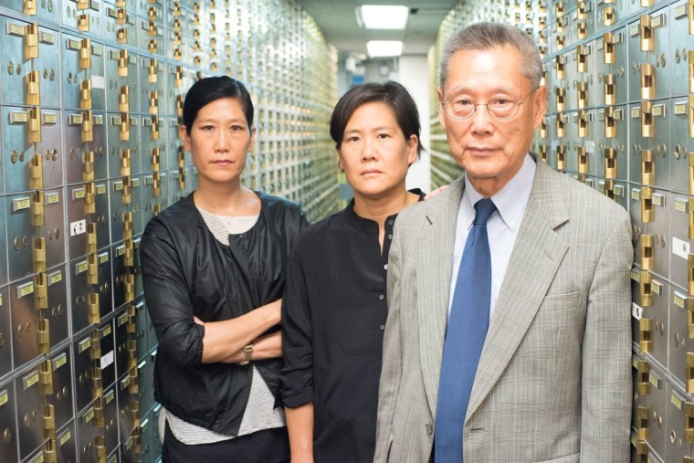 """Vera Sung, Jill Sung, and Thomas Sung are featured in """"Abacus: Small Enough to Jail,"""" a documentary about the only bank believed to face criminal charges following the 2008 financial crisis."""