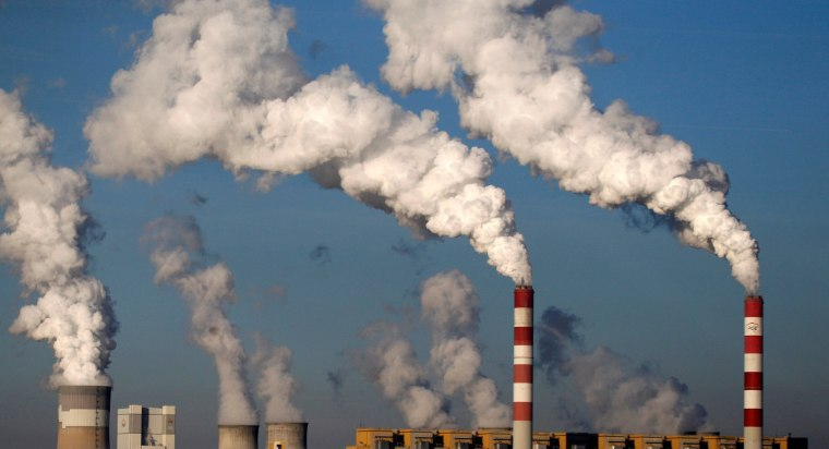 Image: FILE PHOTO: Smoke billows from the chimneys of the Belchatow Power Station in Belchatow