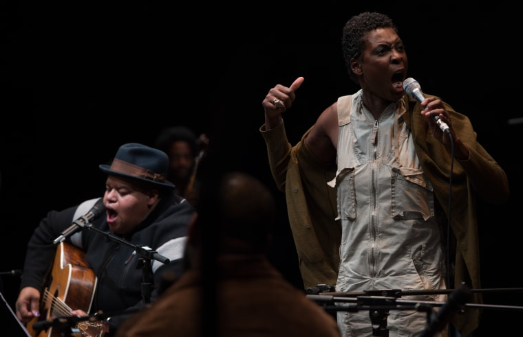 Performance of Parable of the Sower: The Concert Version at The Public Theater