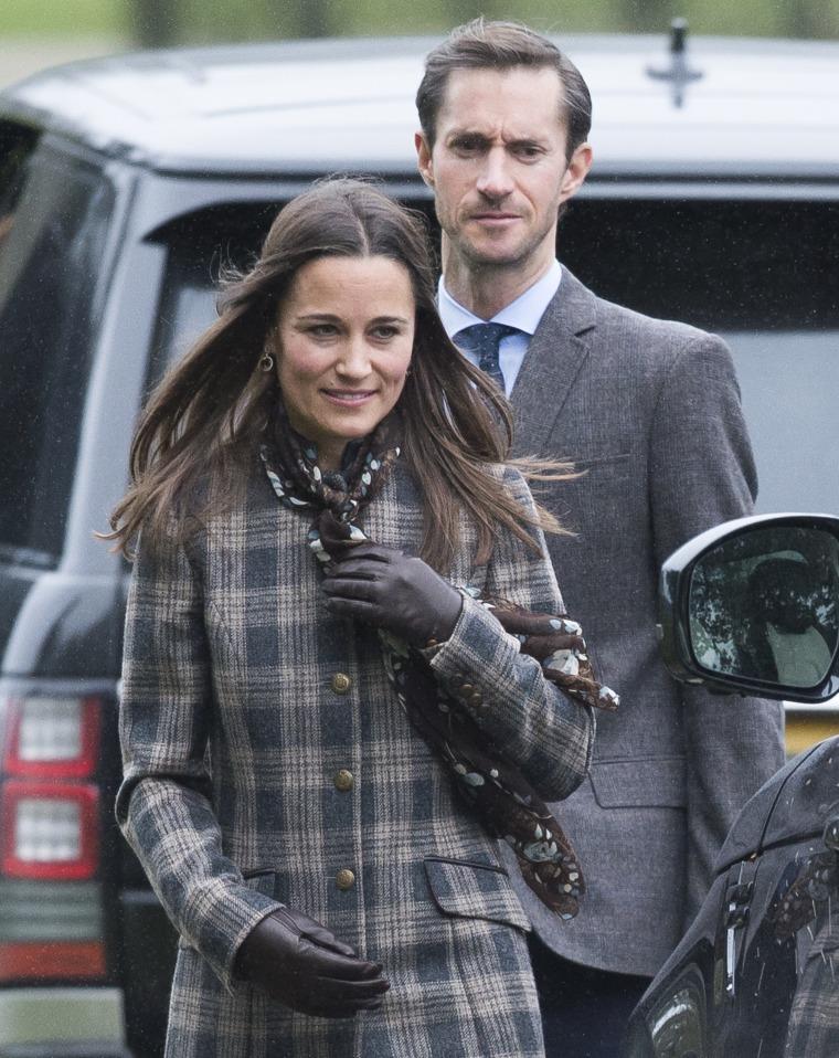 Image: Pippa Middleton and James Matthews