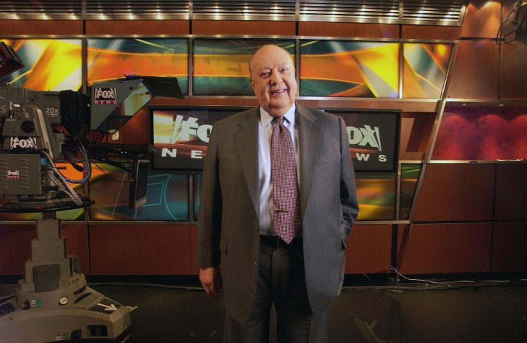 Image: Fox News CEO Roger Ailes