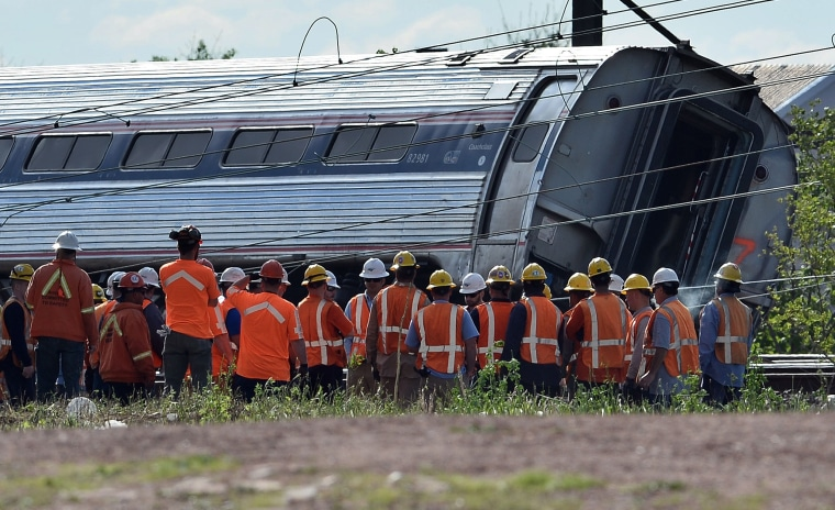 Image: FILES-US-TRAIN-ACCIDENT-JUSTICE
