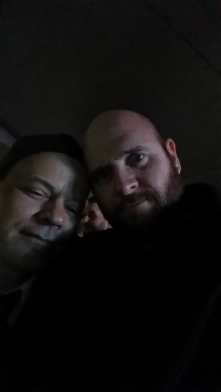 Greg and his boyfriend